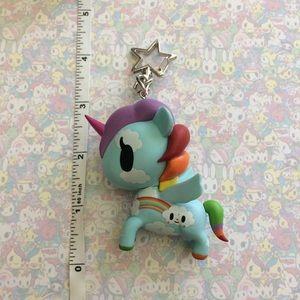 Tokidoki Unicorno bag charm/ keychain- custom!